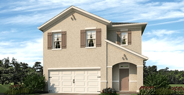 The Sanctuary The Robie 2,447 square feet 5 bed, 3 bath, 2 car, 2 story Riverview Fl