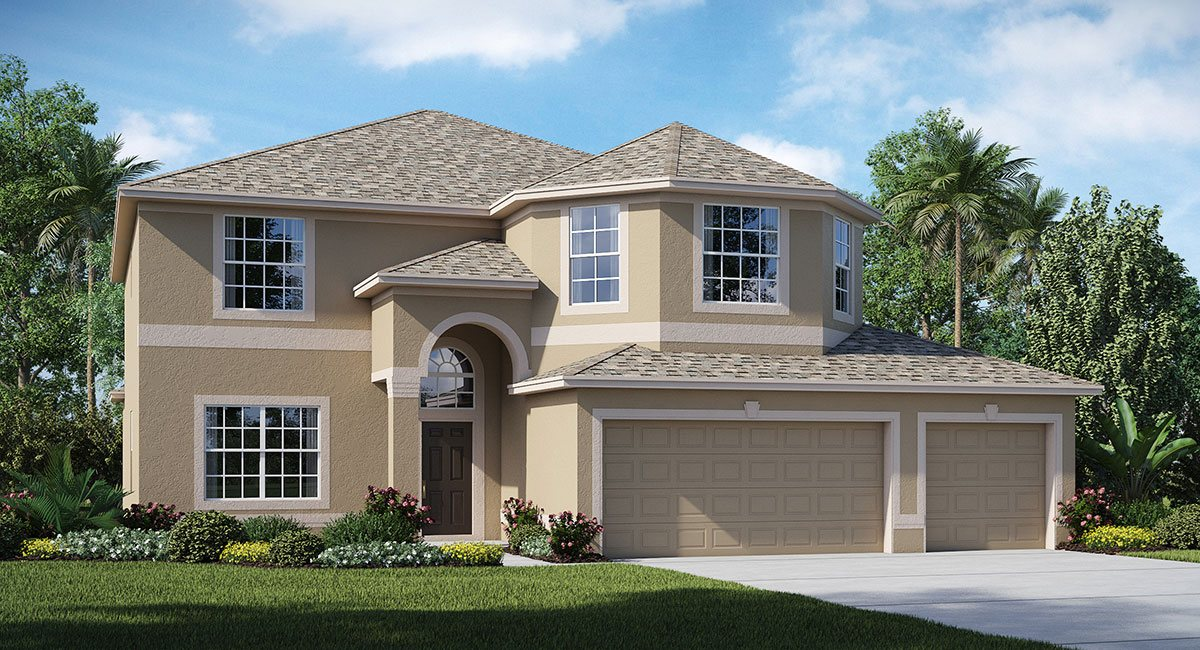 New Open Floor Plan New Homes in Riverview Florida