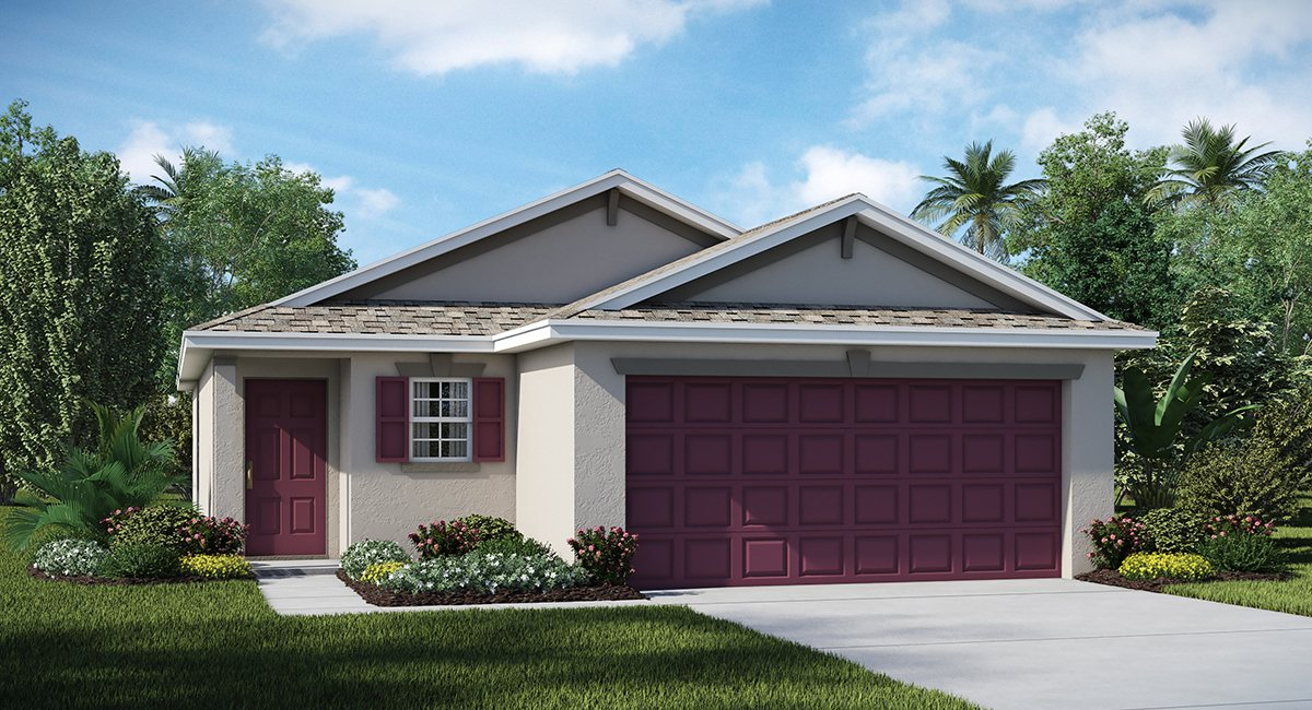 Riverbend West Estates Homes The  Annapolis  1,450 sq. ft. 3 Bedrooms 2 Bathrooms 2 Car Garage 1 Story Ruskin Fl 33570