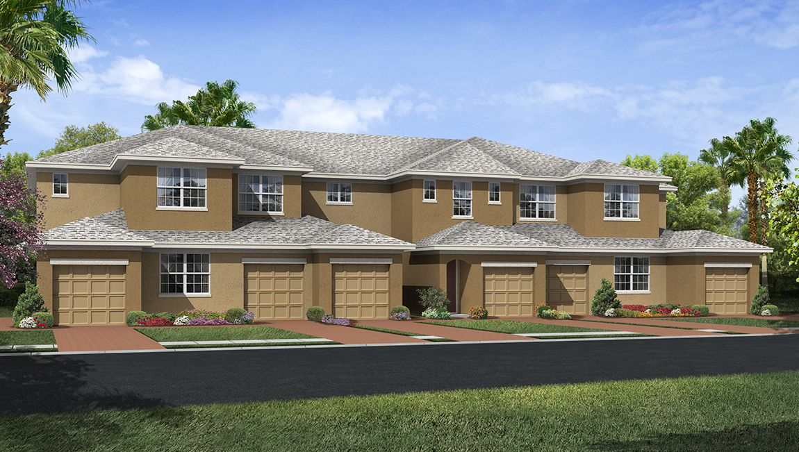 D.R. Horton Homes Palmer Oaks Condominiums Sarasota Florida