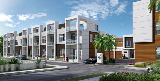 Q Sarasota New Townhomes - Sarasota Florida New Construction