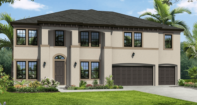 LAKESIDE OAKS RESERVE NEW HOMES TAMPA FLORIDA 33618