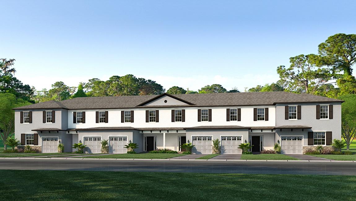 D.R. Horton Homes Baytown Square Townhomes Sarasota Florida