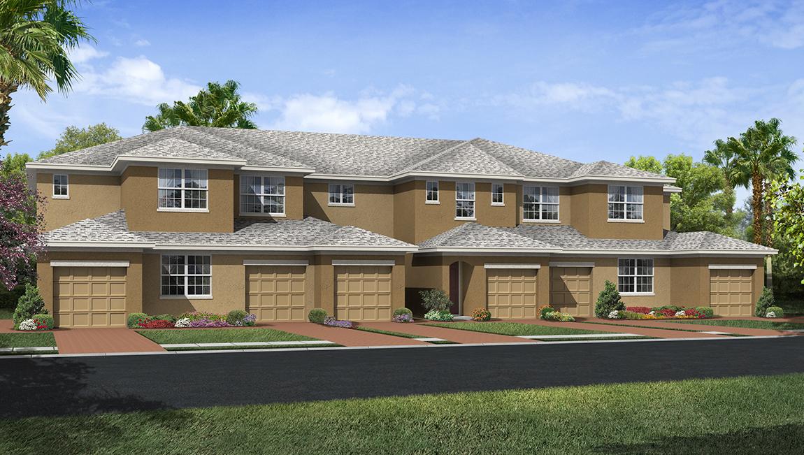 Palmer Oaks Coach Homes with Garages in Sarasota, FL