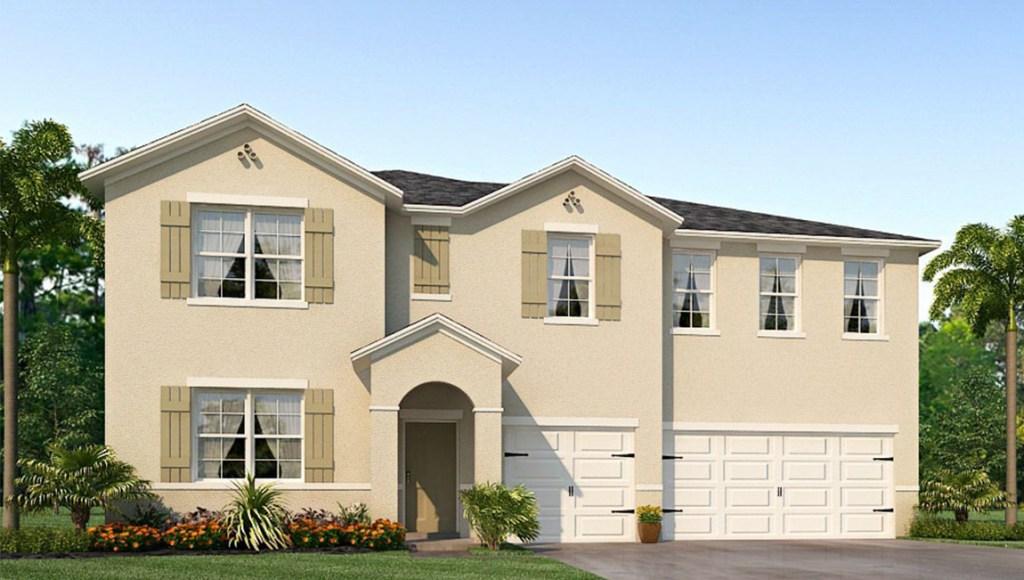 New Homes Park Creek Riverview Florida