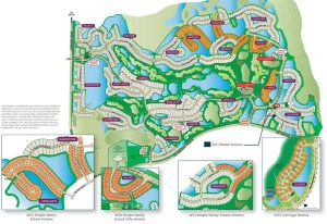 Country Club East at Lakewood Ranch Community Map