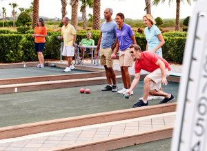 Del Webb Lakewood Ranch Enough A Game Of Bocce Ball