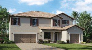 Savanna At Lakewood Ranch The Sorrento 3,283 sq. ft. 5 Bedrooms 4 Bathrooms  1 Half bathroom  2 Car Garage 2 Stories