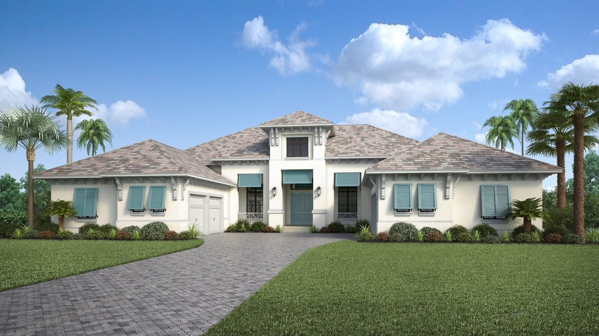 Clairborne II at The Concession by Stock Signature Homes #80