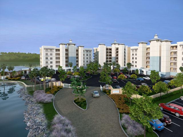 Waterfront On Main Street Lakewod Ranch Florida New Condominiums Community