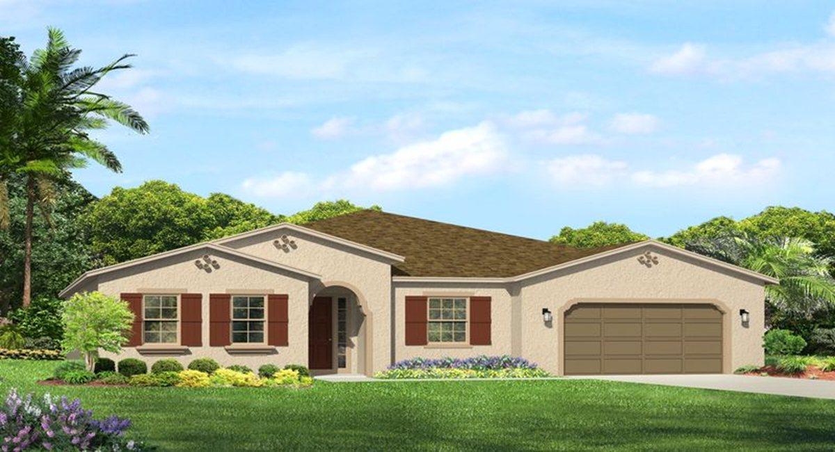 The Claybourne   Model Tour Lennar Homes Tampa Florida