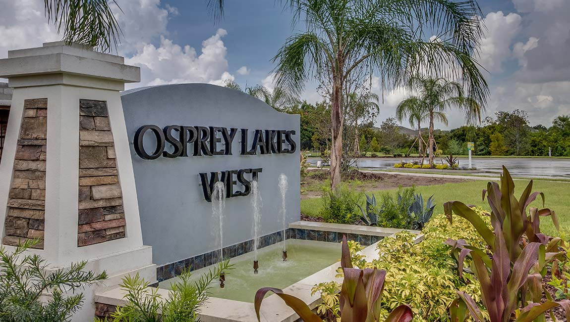 Osprey Lakes  New Town Home Community Riverview Florida