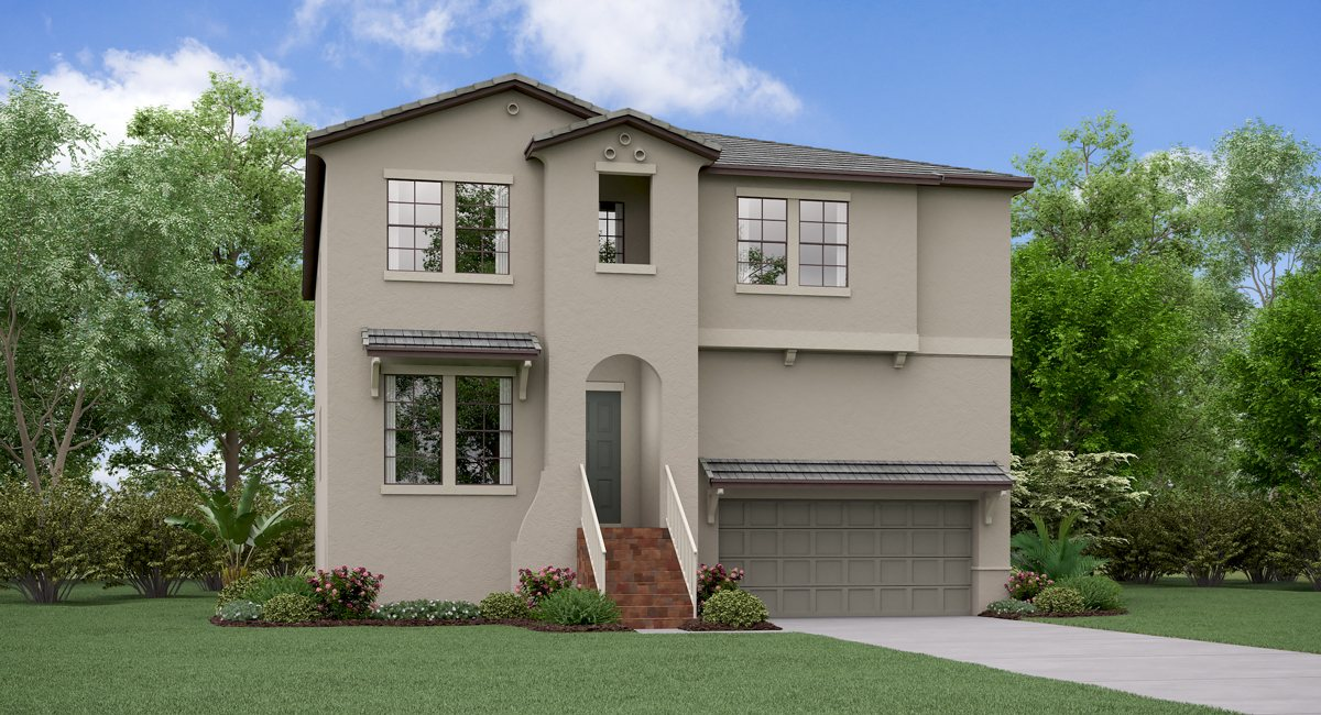 The Illinois Model Tour SouthPort  Lennar Homes South Tampa Florida
