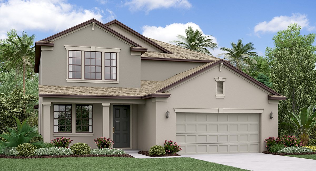Crest View Lakes The Pennsylvania Model Tour Lennar Homes Riverview Florida