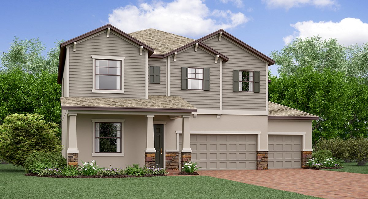 The Colorado Model Tour Lennar Homes Tampa Florida