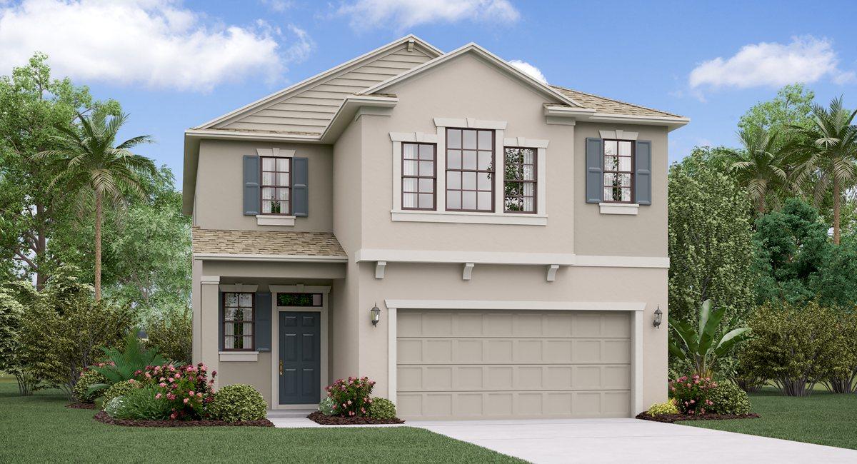 The Maryland Model Tour  Lennar Homes Tampa Florida