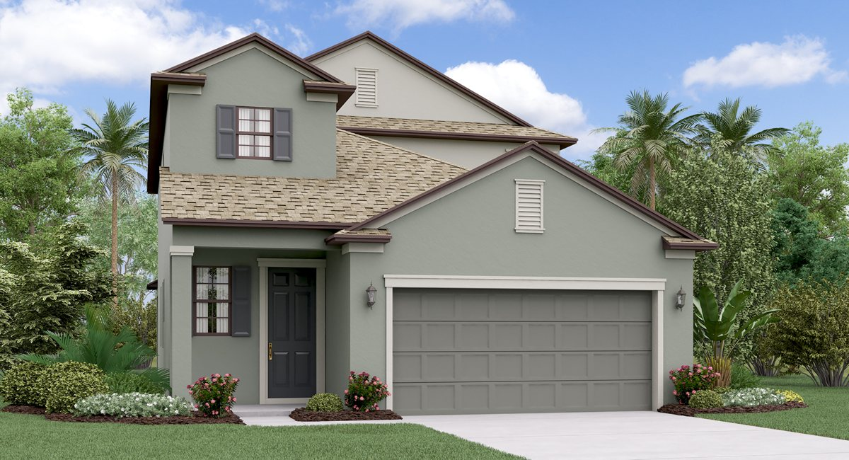 The Massachusetts Model Tour Lennar Homes Riverview Florida