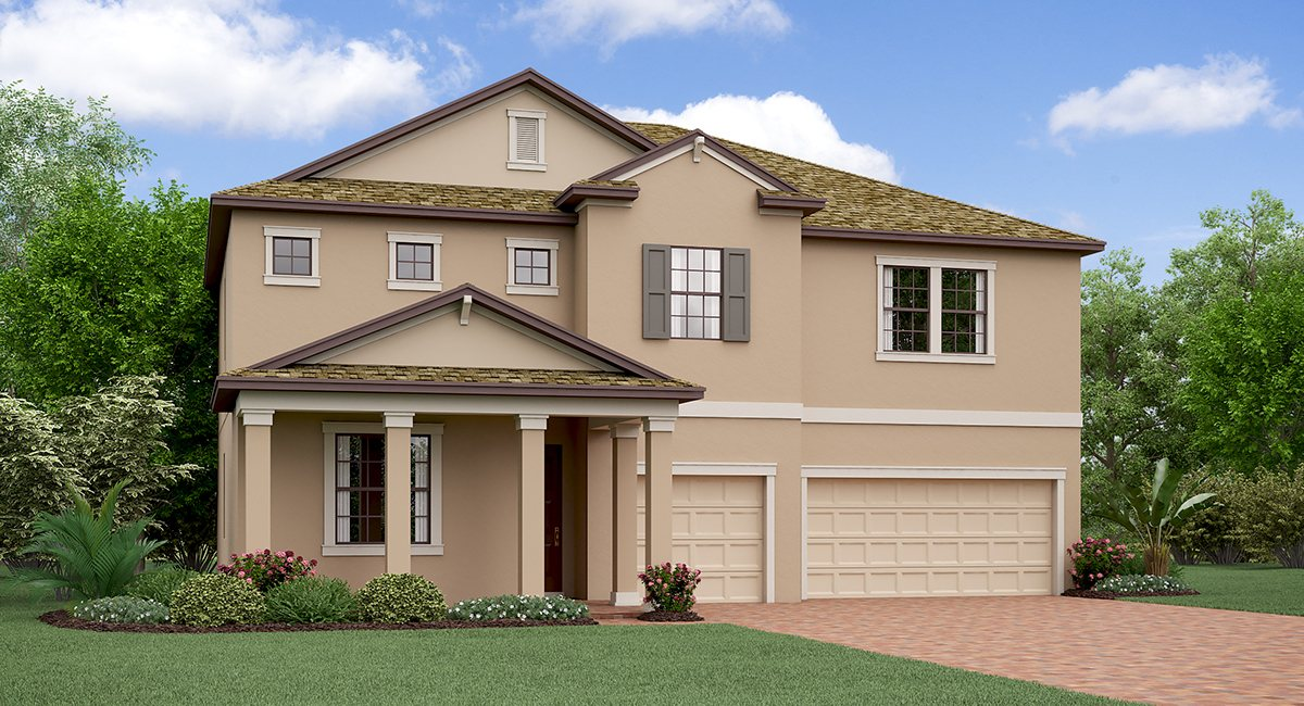 The Nebraska Model Tour Lennar Homes Belmont Ruskin Florida