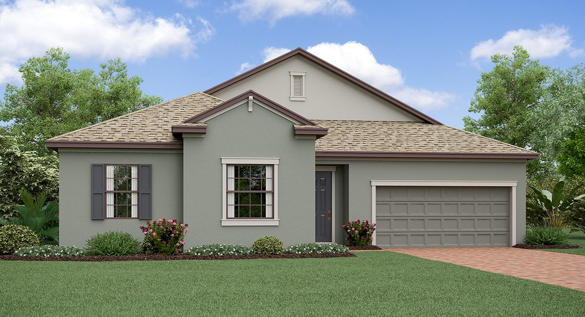 Belmont The   Oregon Model Tour Ruskin Florida Real Estate | Ruskin Realtor | New Homes for Sale | Ruskin Florida