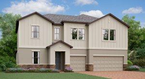 The  California  Model Tour Lennar Homes Riverview Florida