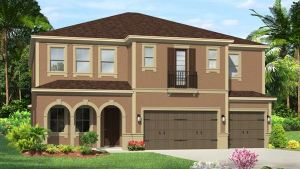 The Saratoga Model Tour Lennar Homes Riverview Florida