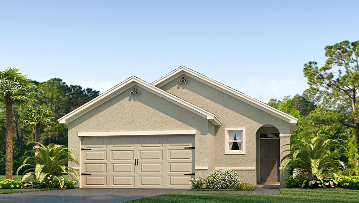 The Allex    Model Tour DR Horton Homes Sagebrook Temple Terrace Tampa Florida