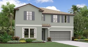 The Trenton Model Tour Lennar Homes Belmont West Ruskin Florida