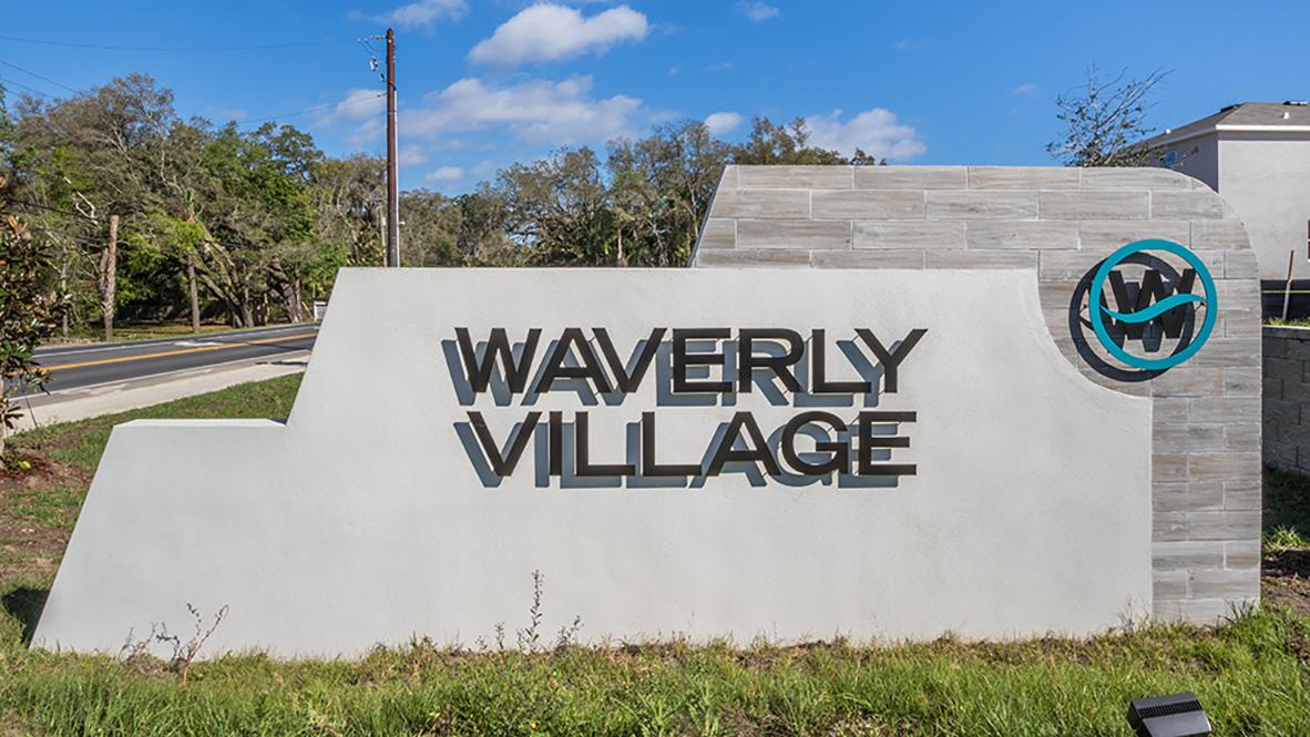 Waverly Village New Home Community Tampa Florida