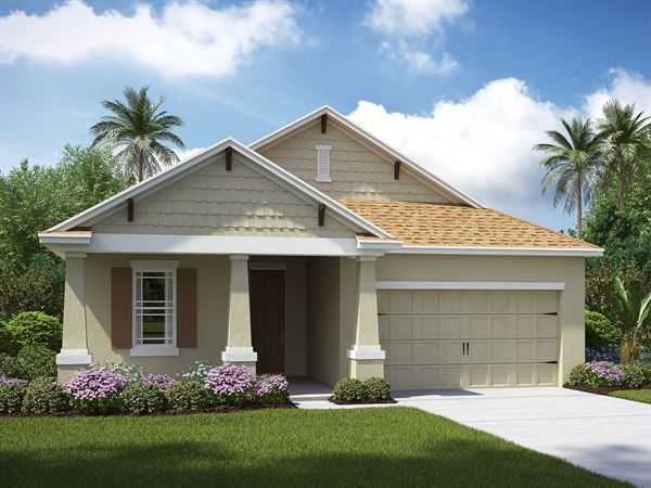 The Boca Raton  Model  Lennar Homes Riverview Florida
