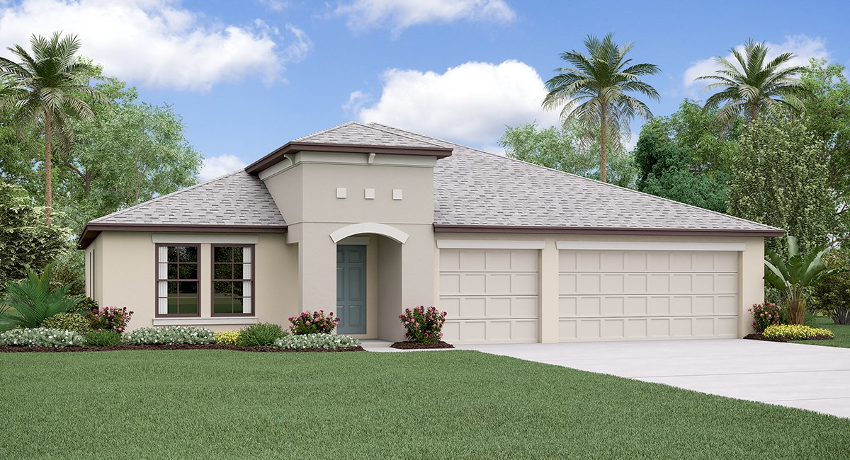 The Lincoln Model  Tour Lennar Homes Sunstone Ridge At South Fork Riverview Florida