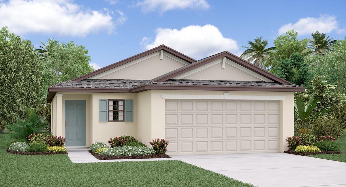 The Annapolis Model Tour Hawthorne Meadows Lennar Homes Gibsonton Florida