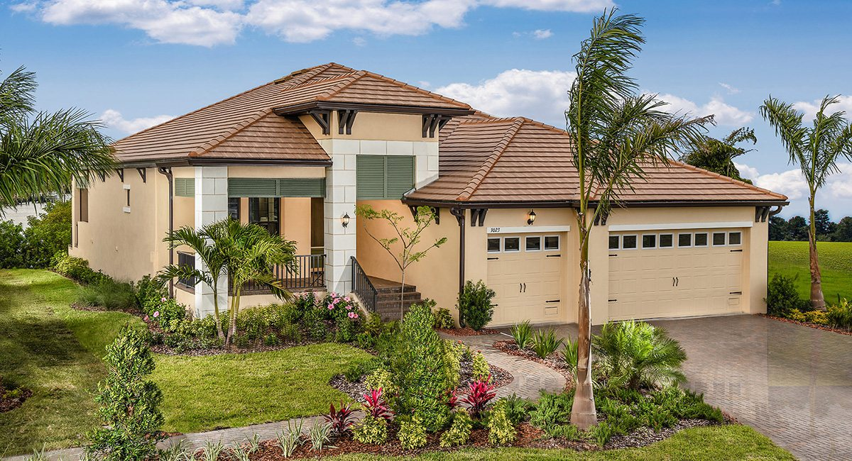 New Home Community Lennar Homes Tampa Florida