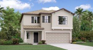 The Concord Model Tour Hawthorne Meadows Lennar Homes Gibsonton Florida