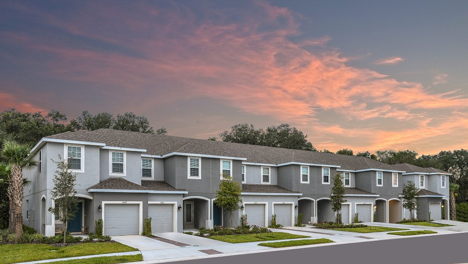 Edgestone at Artisan Lakes New Town Home Community Palmetto Florida