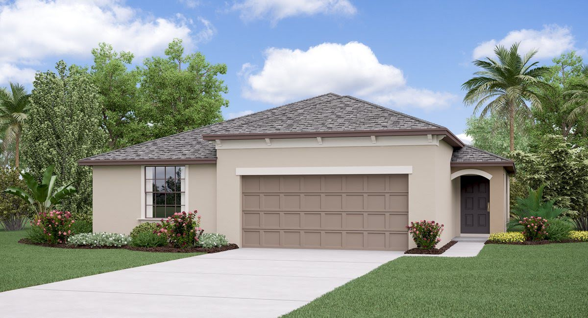 The Harrisburg Model Tour Hawthorne Meadows Lennar Homes Gibsonton Florida