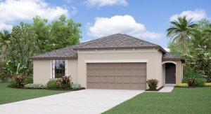 The Harrisburg Model Tour Hawthorne Meadows Lennar Homes Gibsonton Florida