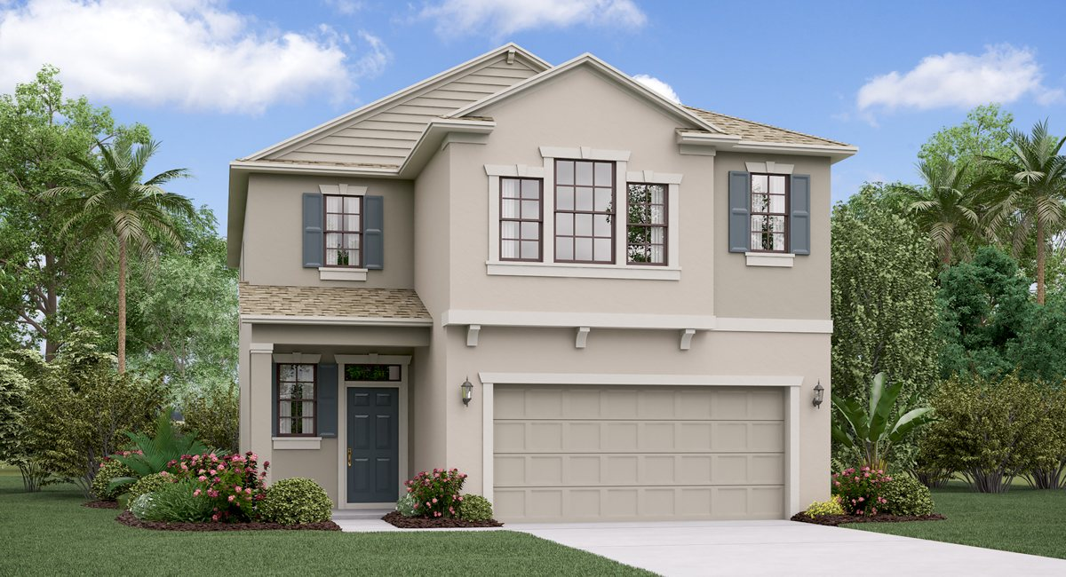 The Maryland Model Tour Bexley Manors Lennar Homes Land O Lakes Florida