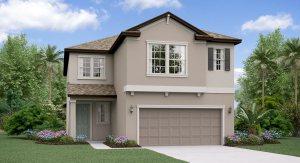 The New Hampshire Model Tour Bexley Manors Lennar Homes Land O Lakes Florida