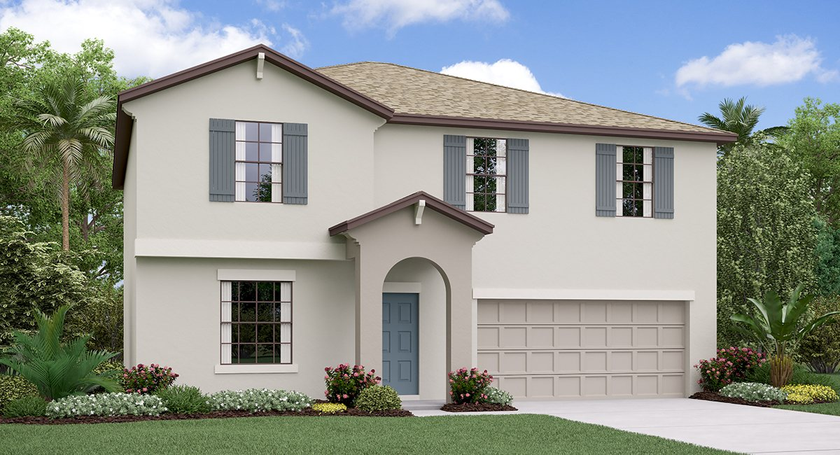 The Providence Model Tour Triple Creek Lennar Homes Riverview Florida
