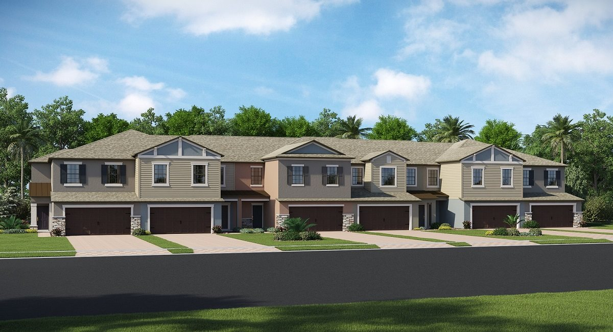 The Capri Model Tour Willow Square Lennar Homes Lutz Florida