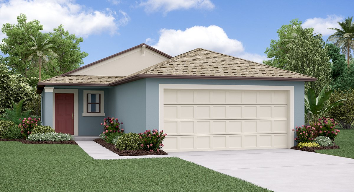 The Albany Model Tour Creek Preserve Lennar Homes Wimauma Florida