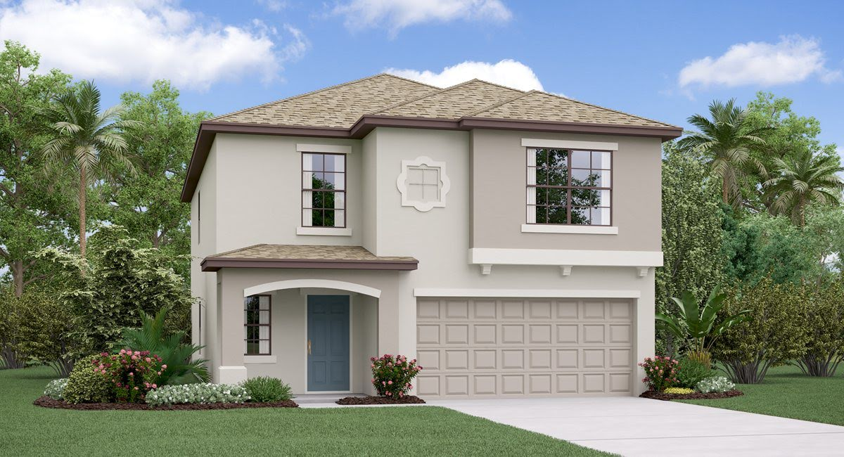 The Boston Model Tour Lennar Homes  Cypress Mill  Sun City Center Florida
