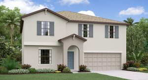 The Providence Model Tour South Creek Lennar Homes Riverview Florida
