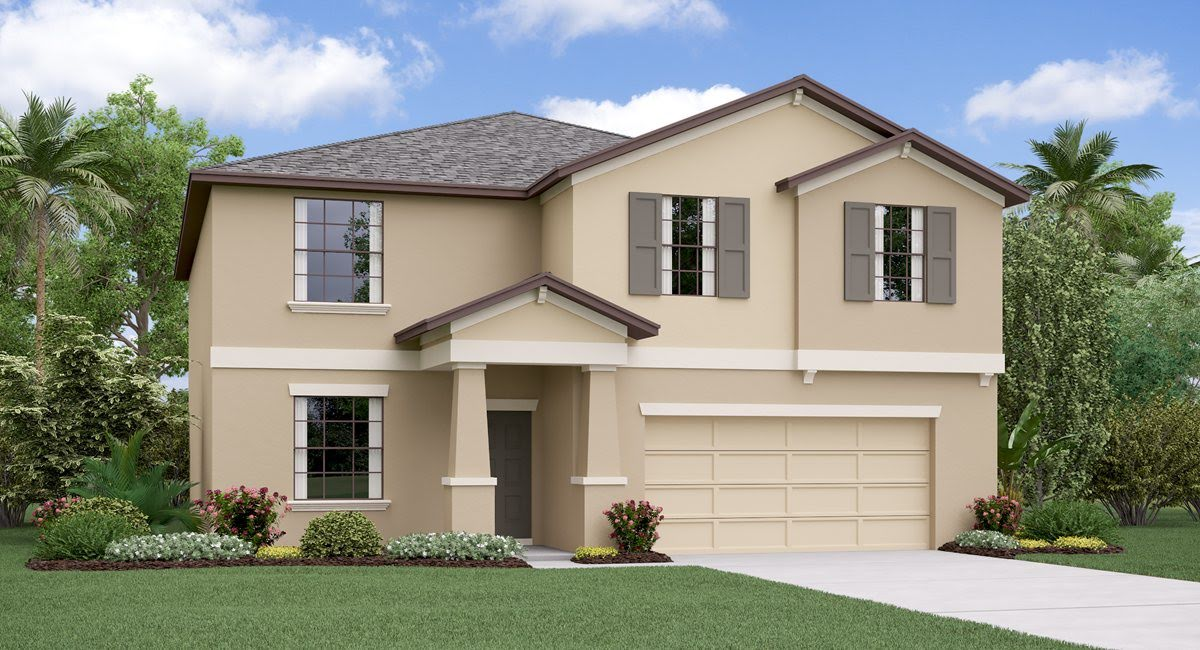 The Richmond Model Tour Creek Preserve Lennar Homes Wimauma Florida