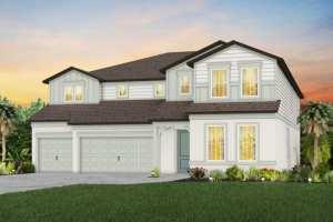 The Roseland Model Tour Hammock Crest Pulte Homes Riverview Florida