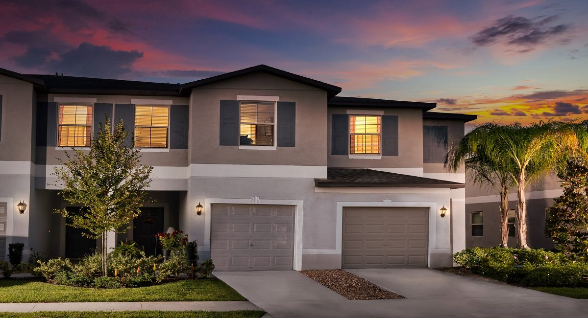 The Hampton Model Tour Townes At Summerfield Creek Lennar Homes Riverview Florida