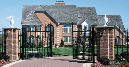 Gates  Gate Access Systems Tampa  Precision Overhead Garage Door