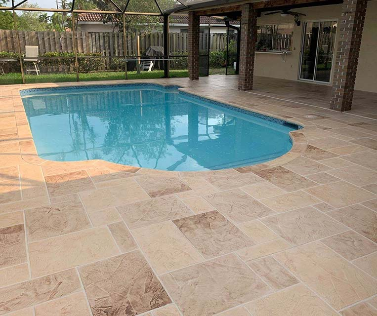 pool deck resurfacing concrete patio