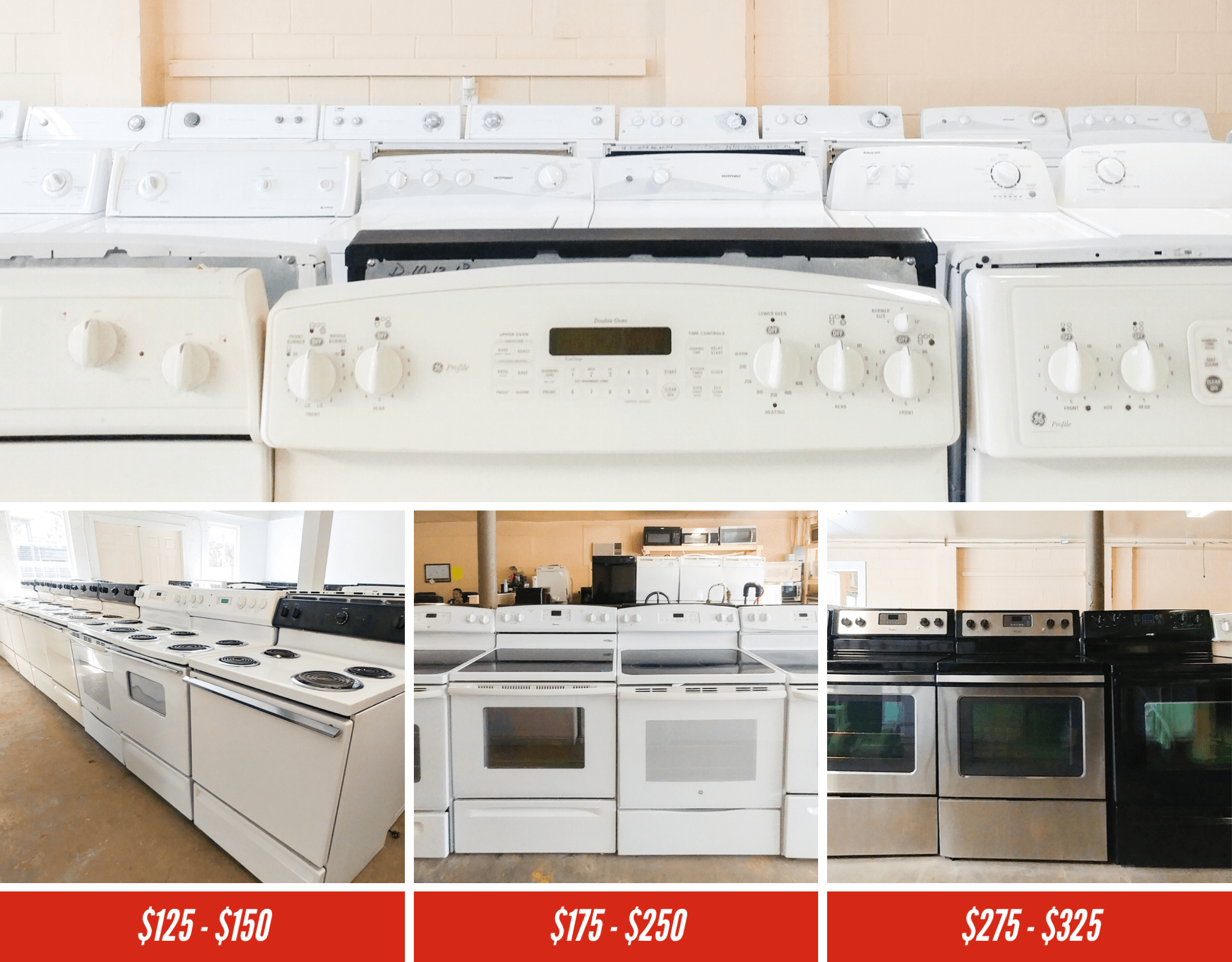 Stoves Amp Ovens Sales In Tampa Fl At Abc Used Appliances