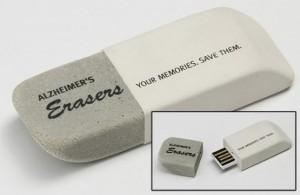 promocionales USB para combatir el Alzheimer